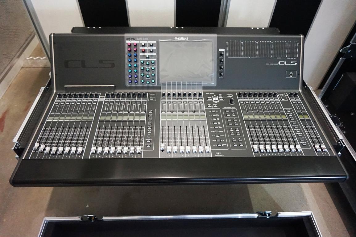 Flightcase srl yamaha cl5 for Yamaha cl mixer